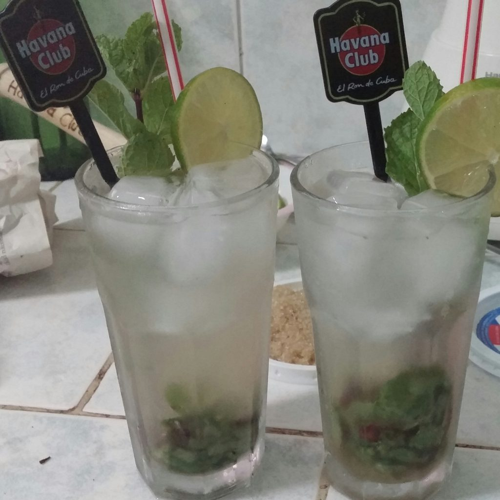 mojito cuba boissons