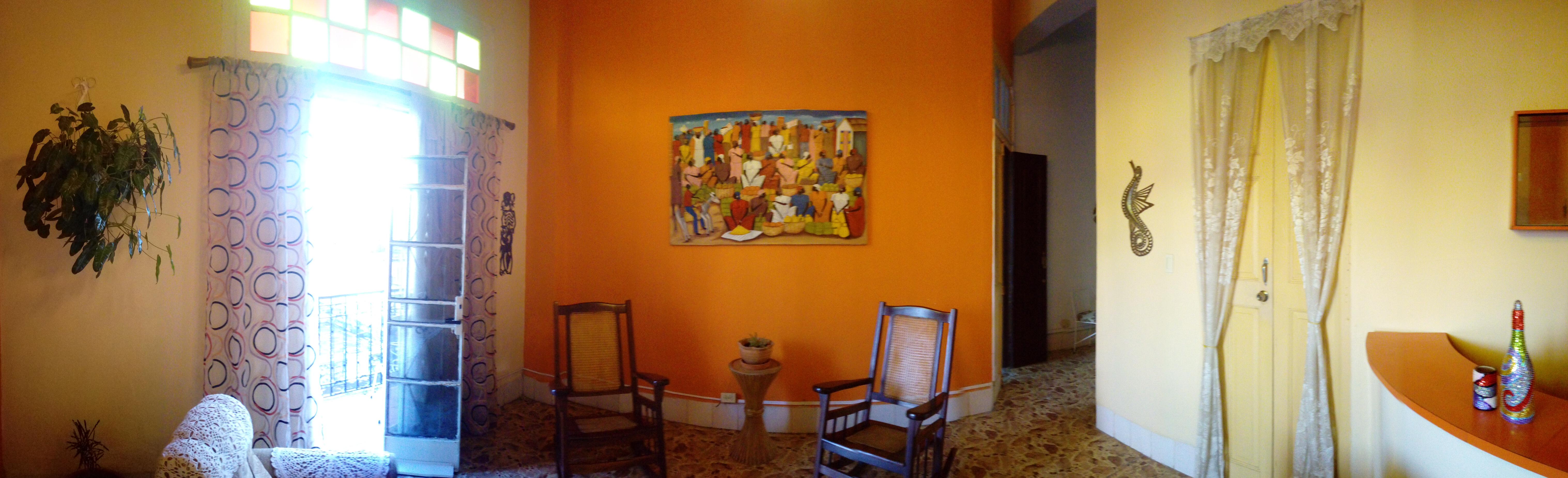 The Buena Vista casa particular show in Havana, Cuba